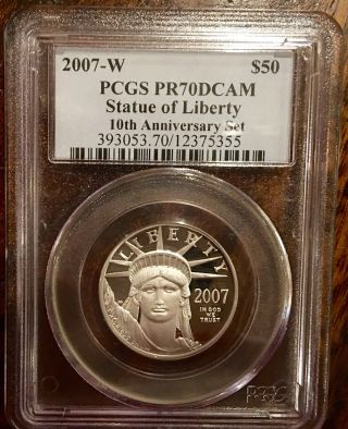 2007 - W 10th Anniversary Pr70dcam $50 Platinum photo