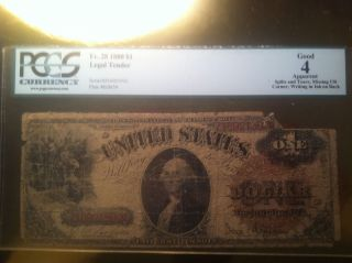 1880 $1 Legal Tender photo
