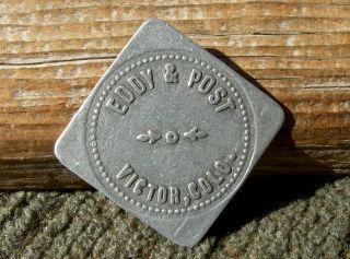 1900s Victor Colorado Co (mining Town Teller)
