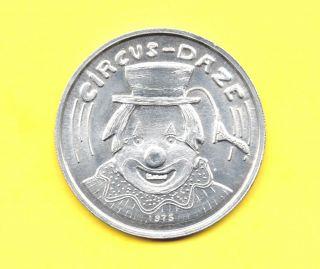 Circus - Daze Token 1975 Clown Coin photo