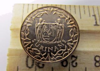 1962 Suriname - Vintage 1 Cent Bronze Coin (994) photo