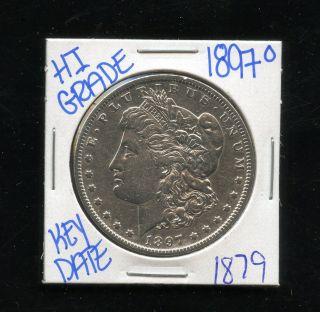 1897 O Silver Morgan Dollar Coin 1879 Shipping/rare Key Date/high Grade photo
