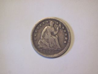 Circulated 1853 Liberty Seated Half Dime Uncertified Ungraded Business Strike photo