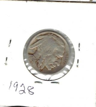 1928 Buffalo Nickel 4 Legs photo