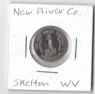 Coal Scrip Token Skelton Raleigh County Wv 10 Cent River Coal Script photo