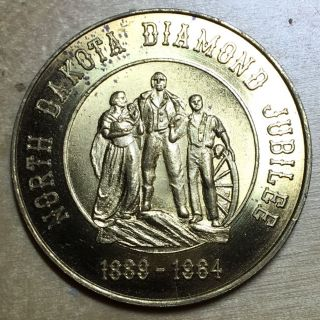 North Dakota Diamond Jubilee Souvenir Half Dollar photo