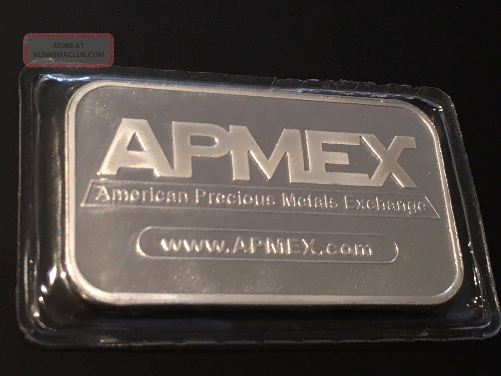 1 Troy Oz 999 Fine Silver Art Collectible Bar Apmex