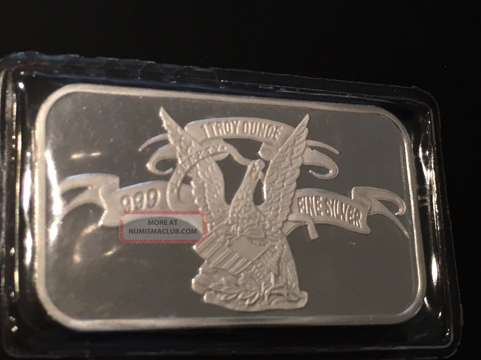 1 Troy Oz 999 Fine Silver Art Collectible Bar Apmex