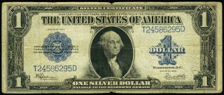 1923 $1 Large Size Silver Certificate Fr.  237 photo