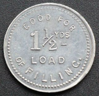 Ottawa Improvement Commission 1 - 1/2 Yds Fill Token Bowman 760 - Ao - B photo