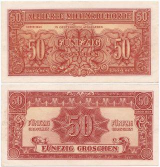 Austria,  50 Groschen 1944,  Pick 102b,  Xf photo