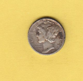 1943 - S 10c Mercury Dime photo