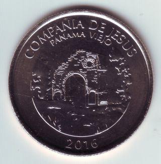 2016 Panama – 0.  50 Medio Balboa - Compañia De Jesus,  Old Panama photo