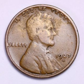 1927 - D Lincoln Wheat Cent Penny Lowest Prices On The Bay photo