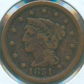 1851 Large Cent (1619665) photo