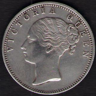 British India Queen Victoria Continues Legend One Rupee 1840 Silver Rare Coin photo