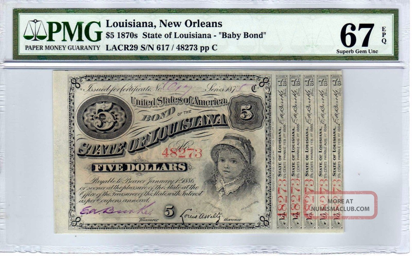 $5 1870 ' S