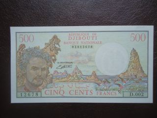 Djibouti 500francs Unc Unc photo