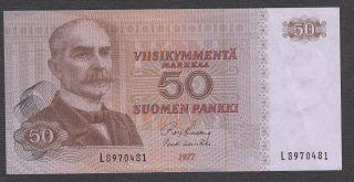 Finland 50 Markkaa 1977 (xf) photo