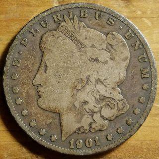 1901 - O $1 Morgan Silver Dollar photo