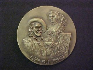 1577 - 1840 Pedro Paulo Rubens Large Brass Medal photo