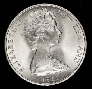Zealand Dollar,  1967,  Decimalization Commemorative Coin photo