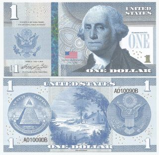 United States - 1 Dollar - Fantasy Note (collectible) - George Washington photo