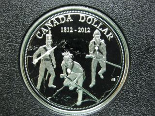 2012 200th Anniversary Of The War Of 1812 Canada Silver Coin photo