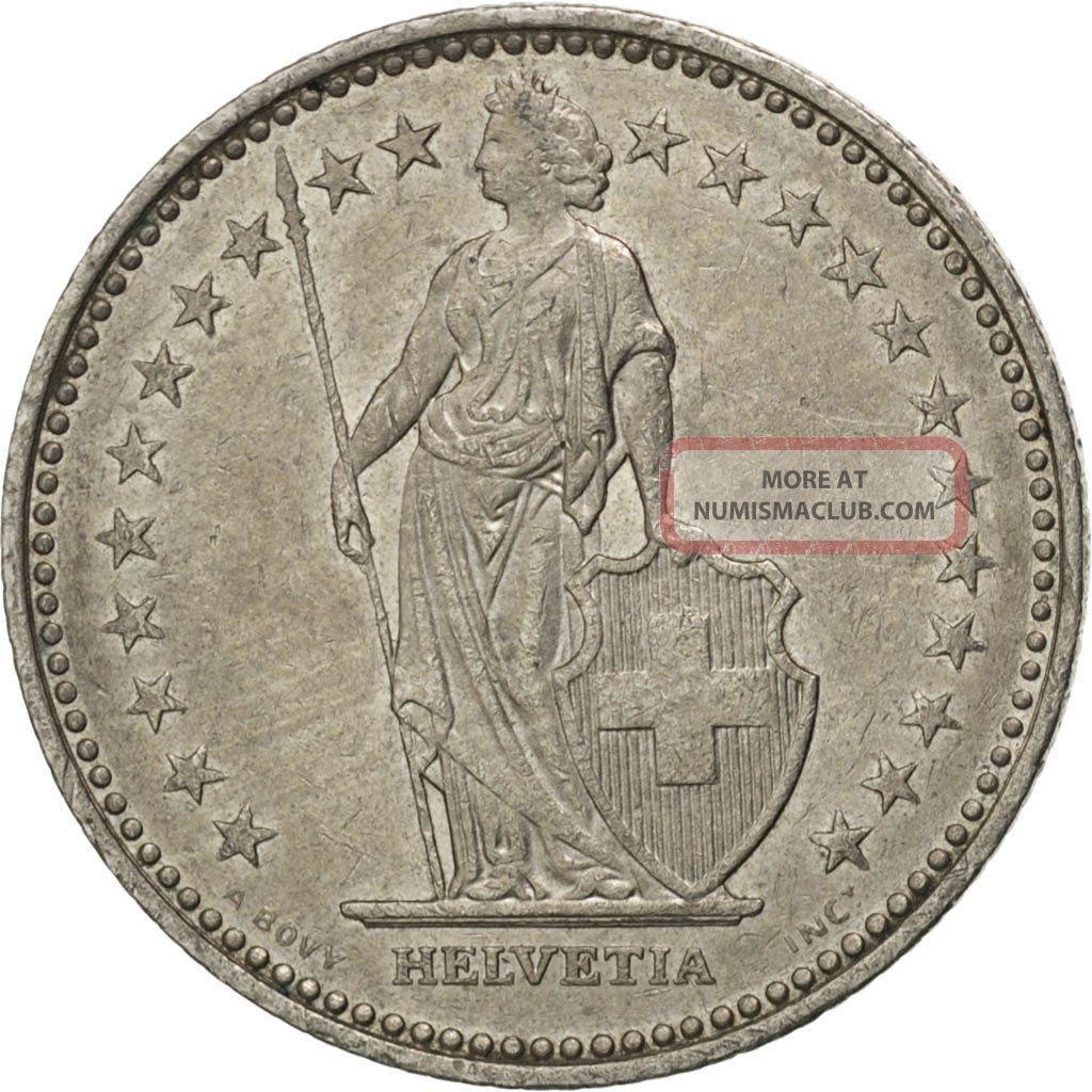 [ 76008] Suisse,  Confédération Helvétique,  1 Franc 1985,  Km 24a.  3,  Km. Europe photo