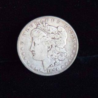 1984 Morgan Silver Dollar $1 Coin 90 Silver photo