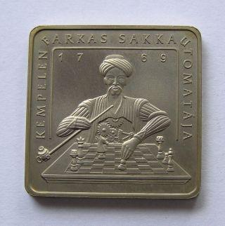 Hungary 500 Forint 2002 Kempelen ' S Chess Machine.  Mintage 5000. photo