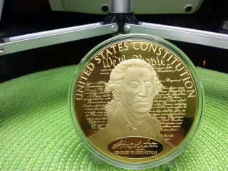Colossal George Washington Commemorative Coin photo
