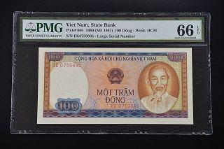 Viet Nam 1980 Pick 88b Pmg66 Epq 0759895 photo