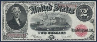 1917 $2 Large United States Note (fr 60)