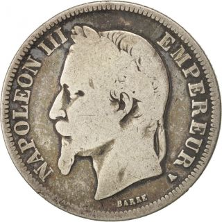 [ 414732] France,  Napoleon Iii,  Napoléon Iii,  2 Francs,  1869,  Paris,  Silver photo