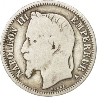 [ 411037] France,  Napoleon Iii,  Napoléon Iii,  Franc,  1868,  Paris,  Silver photo