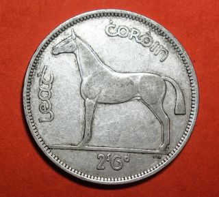 Ireland: Irish Half Crown 1942.  Silver photo