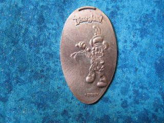 Mickey Mouse Sword Fighter Disneyland Disney Elongated Penny Pressed Smashed 21k photo