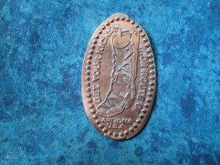 Get Your Kicks On Route 66 Mohave Museum Az Elongated Penny Pressed Smashed 21k photo