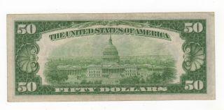1934 $50 Federal Reserve Note Philadelphia photo