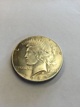 1964 Peace Dollar - - Fantasy Date Never Released By photo