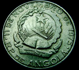Angola.  2 Kwanzas,  1975 photo