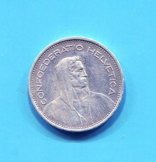 Switzerland - Silver 5 Francs,  1932 B photo