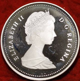 Uncirculated 1987 Canada $1 Silver Foreign Coin S/h photo