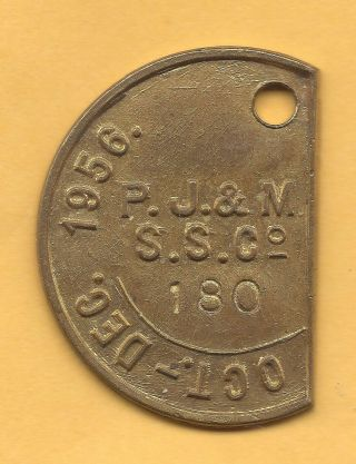 Manly Australia Ferry Boat Transportation Token Aus - 480 - Ka 180 photo