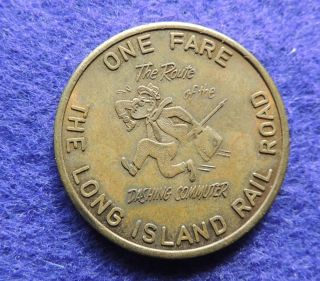 Long Island Railroad,  Awesome Long Island 1964 - 65 Worlds Fair Token photo
