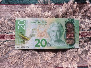 Zealand Banknote 2016 Edition Twenty Dollars photo