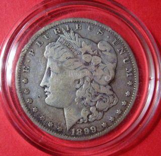 1899 O Morgan Silver Dollar Circulated photo