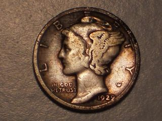 1929 Mercury Dime (attractive) photo