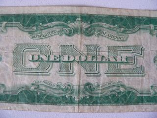 1928 A $1 Silver Certificate Note One Dollar Bill